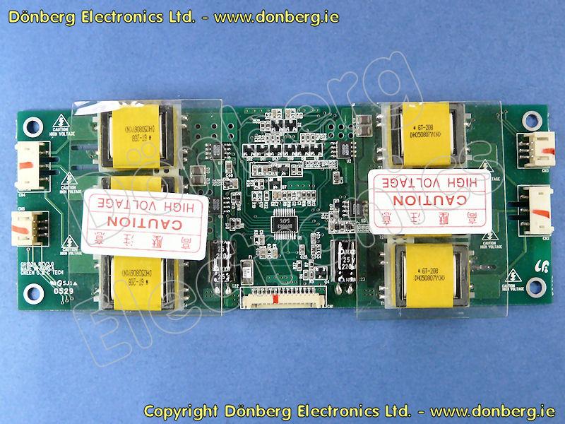 GH103A - LCD WECHSELRICHTER (INVERTER) BOARD GRÜN C&C