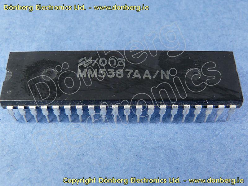 Halbleiter: MM5387 (MM 5387) - DIGITAL ALARM CLOCK ... on
